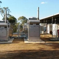 2 x 175kW gas generator packages.