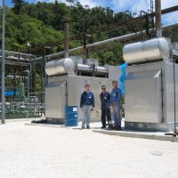 Packaged natural gas fired power station complete with packaged control room and switchgear in QLD.