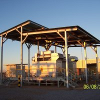 Twin units in prime power natural gas installation in QLD.